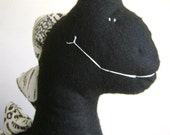 HEBERT the dinoscore. custom plushie...