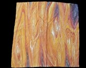 Wood Grain Silk Scarf