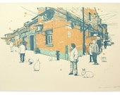Rabbit Year In Shanghai (Edition II) - Handpull Silk Screen Art Print