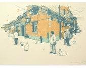Rabbit Year In Shanghai (Edition II) - Handpull Silk Screen Art Print
