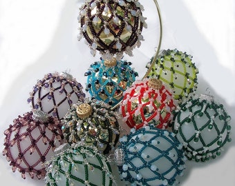 Holiday Elegance Pattern, Beading Tutorial in PDF