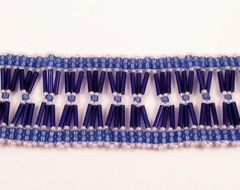 Bugle Bundles Bracelet Pattern, Beading Tutorial in PDF