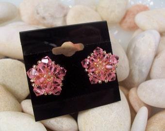 Crystal Star Earrings, Beading Tutorial in PDF