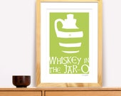 Whiskey In The Jar Modern Trad Poster