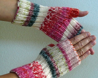 Knitting PATTERN - Fingerless Gloves