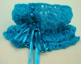 Knitting PATTERN - Mohair Lace Scarf