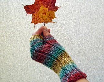Knitting PATTERN - Warm Gloves