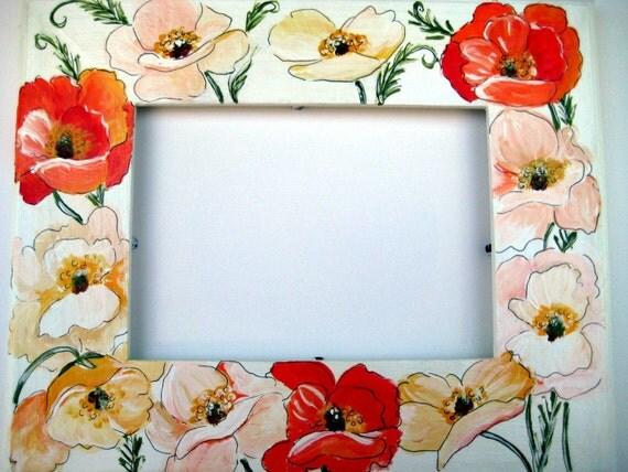 poppy Photo Frame