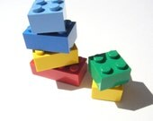 Brick Magnets, set of 6