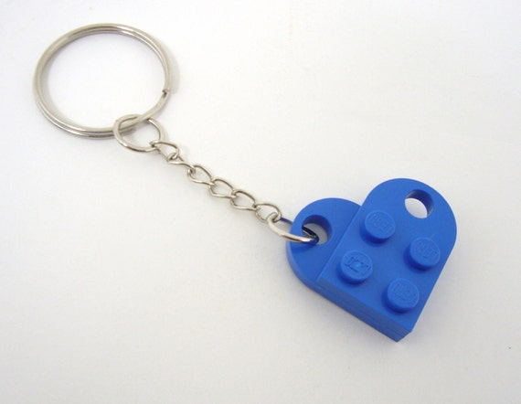 Brick Heart Key Chain