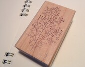 Discontinued-Beautiful Japanese Wooden Rubber Stamp - Tree for invitation, card making, scrapbooking