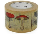 MT ex 2012 NEW- Japanese Washi Masking Tapes / 30mm wide Plants & Flowers - littlehappythings1