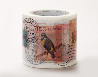 Discontinued - MT ex 2011 Autumn - Japanese Washi Masking Tapes / 45mm wide Beautiful Stamps