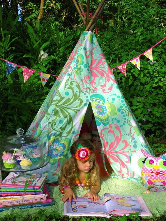 Tee Pee, Play Tent, Tent, Kids Playhouse, Photography Prop