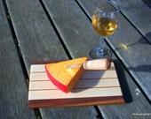 PIF listing - Small Wood Cutting Board OOAK