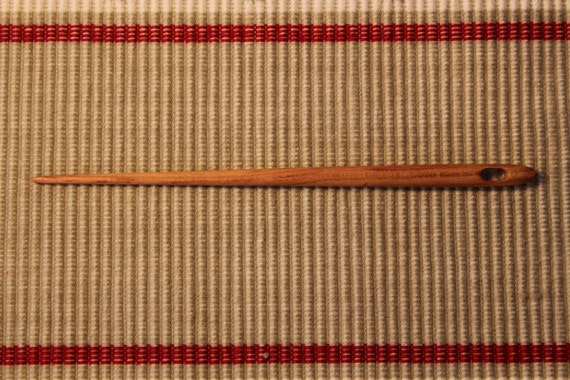Wooden Nalbinding Needle beautiful PLUM wood... 12011312