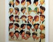 Norman Rockwell Centennial Edition Print