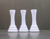 Art Deco Milk Glass Vases
