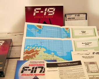F 19 Stealth Fighter PC Game