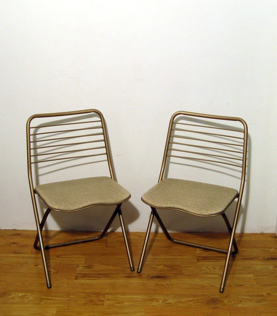 Pair of Cosco Hamilton Folding Chairs by DJandPvintage on Etsy