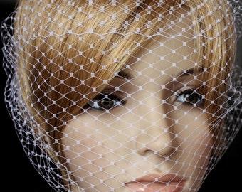 Birdcage Veil Russian netting Bandeau style Wedding