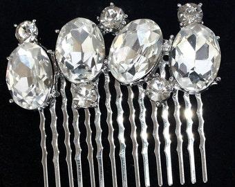 Czech Crystal bridal Hair pins Wedding Bridal Headpiece