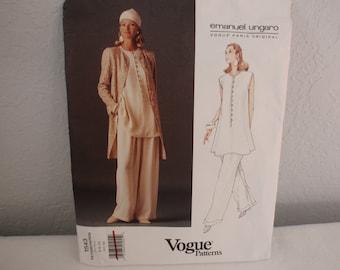 Vogue 1543 Ungaro Jacket, Top and Pants.