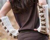Toasty Arm Warmers Crochet Pattern