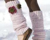Floral Leg Warmers Crochet Pattern PDF