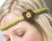 Retro Headband Crochet Pattern PDF