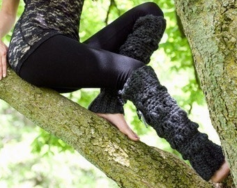 Loopy Leg Warmers Crochet Pattern PDF