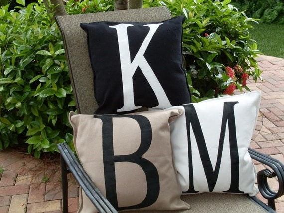 Special Buy - 2 Lettered Pillows