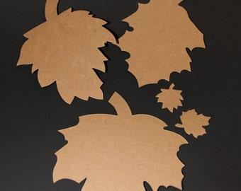Leaf Album Die Cut With 6 Pages