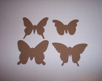 Die Cut Butterflys Set of 12