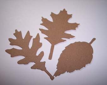 New Tattered Leaves Set of 9