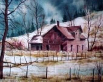 Montana Ranch House