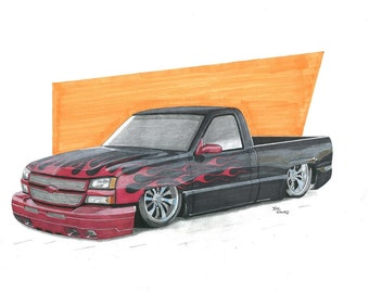 Flamed Chevy