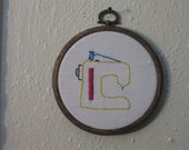 Sewing machine mini embroidery- Sublime Stitching licensed item