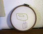 Mixer Mini Hand Embroidery