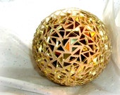 Gazing Ball, Gold Mirror, Centerpiece, Home Decor, Wedding, Anniversary, Christmas