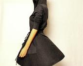 Dress / Hoodie Dress / Grey Hoodie Dress / Hoodie Dress Women / Women Dress / Prom / Evening / Party / Day
