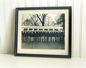 Vintage Black and White Group Photo Dapper Dons