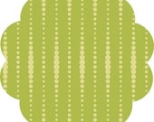 Clearance - Studio E Flourish in Green Beads  - Studio E - 1 Yard