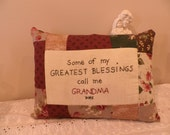 Grandma Blessings Pillow