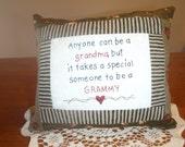 Grammy pillow