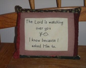 religious pillow