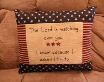 Lord Watching You Pillow