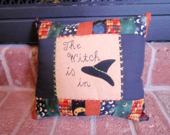 Witch is in pillow