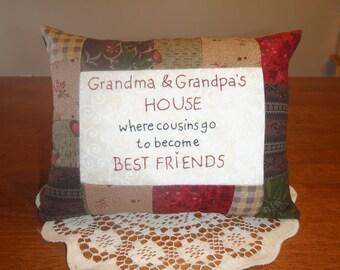 Cousins Best Friends Pillow
