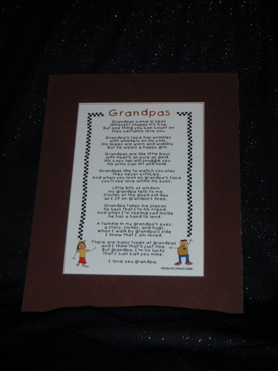 Grandpas Poem